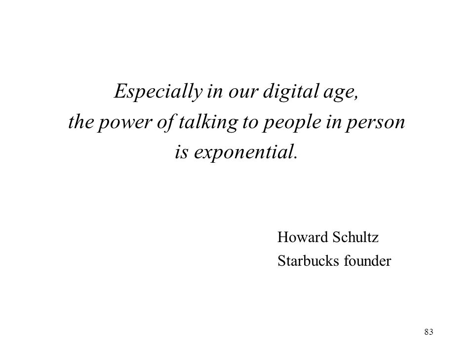 Especially in our digital age,