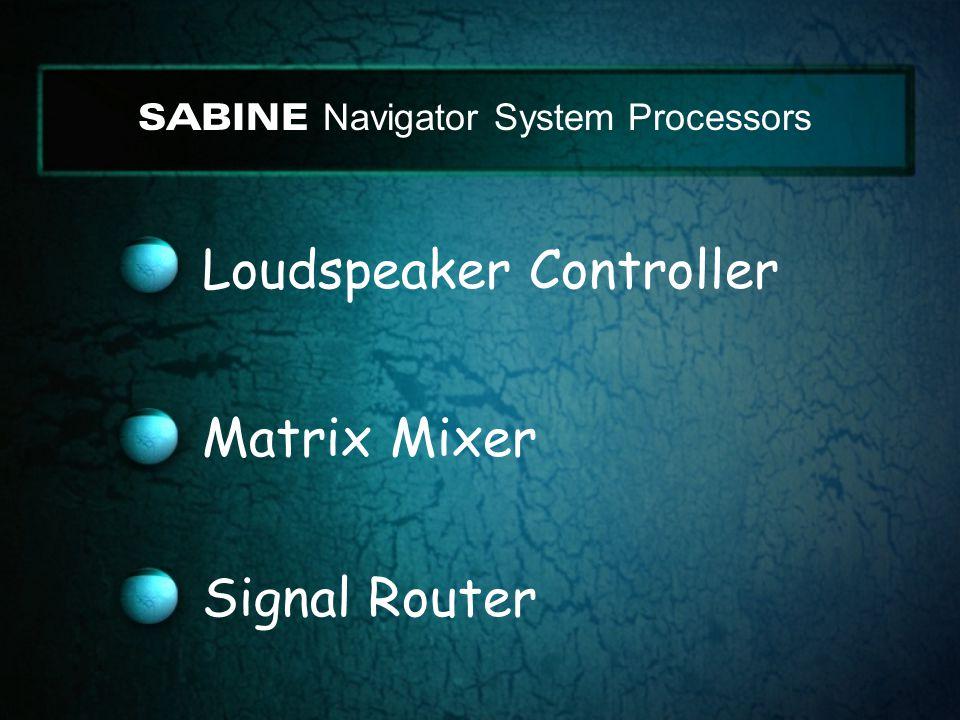Loudspeaker Controller