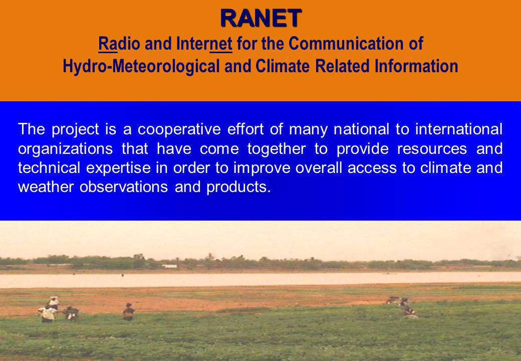 RANET Radio and Internet for the Communication of