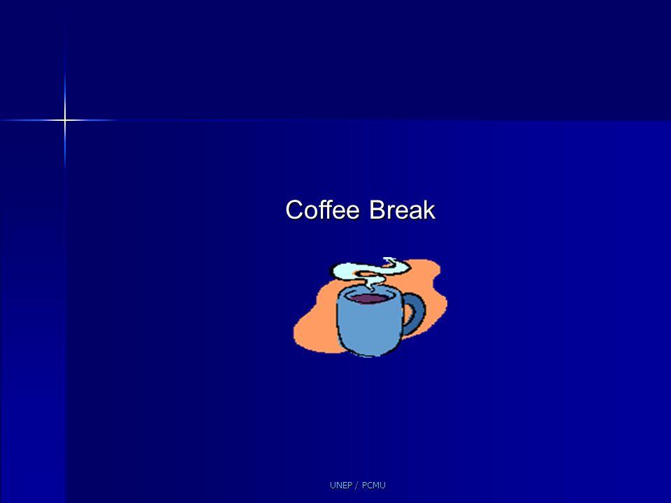 Coffee Break UNEP / PCMU