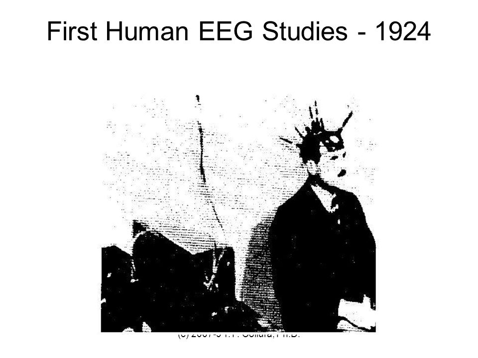 First Human EEG Studies - 1924