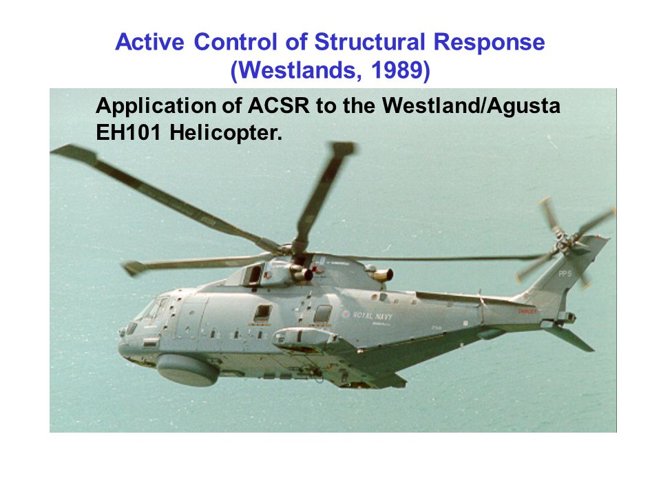 Active Control of Structural Response (Westlands, 1989)