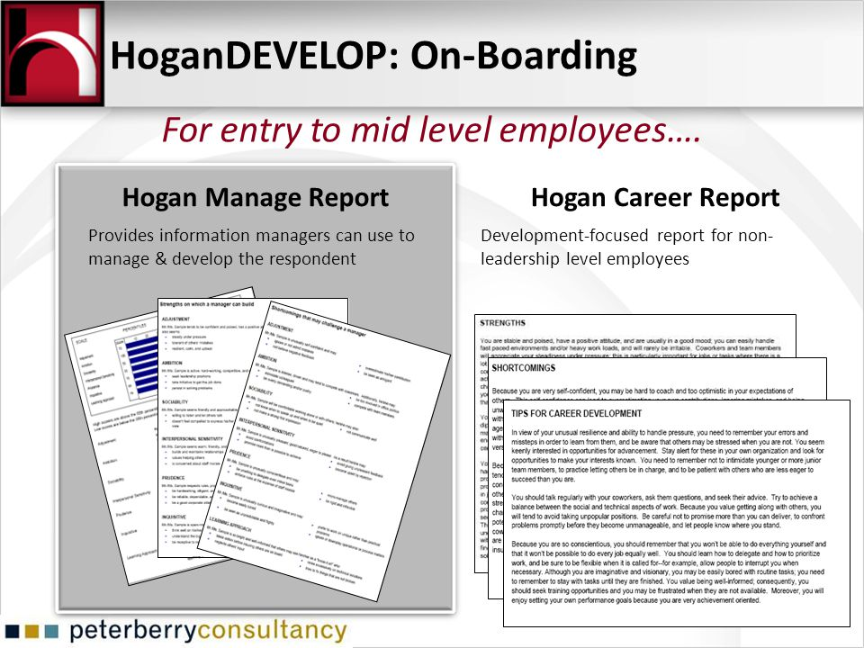 HoganDEVELOP: On-Boarding