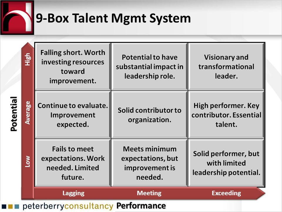 9-Box Talent Mgmt System