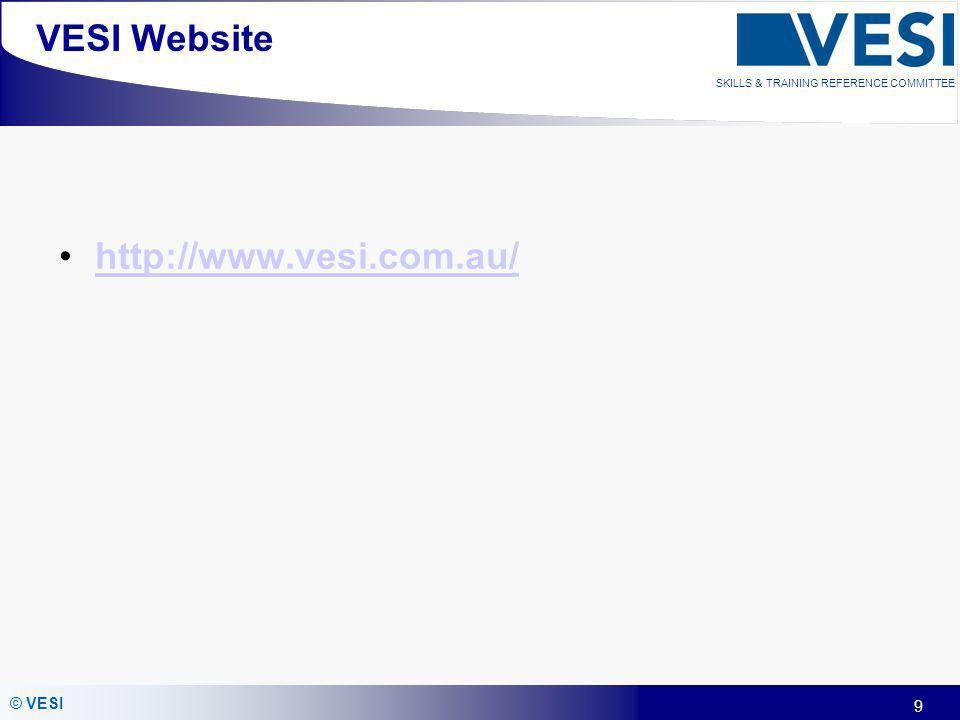 VESI Website http://www.vesi.com.au/