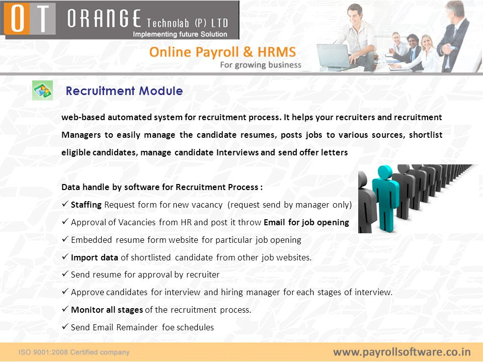 Recruitment Module