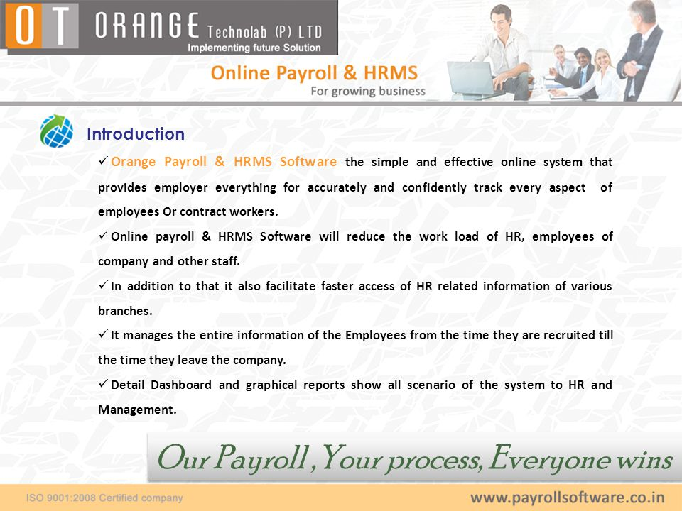 Our Payroll ,Your process, Everyone wins