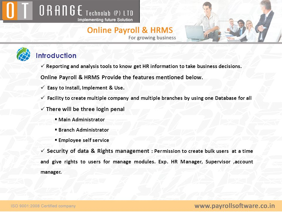 Introduction Reporting and analysis tools to know get HR information to take business decisions.