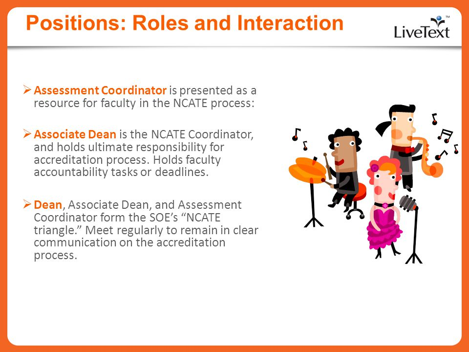 Positions: Roles and Interaction