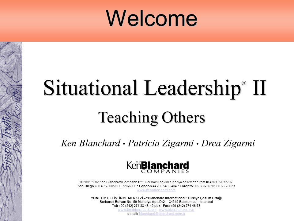 Situational Leadership® II