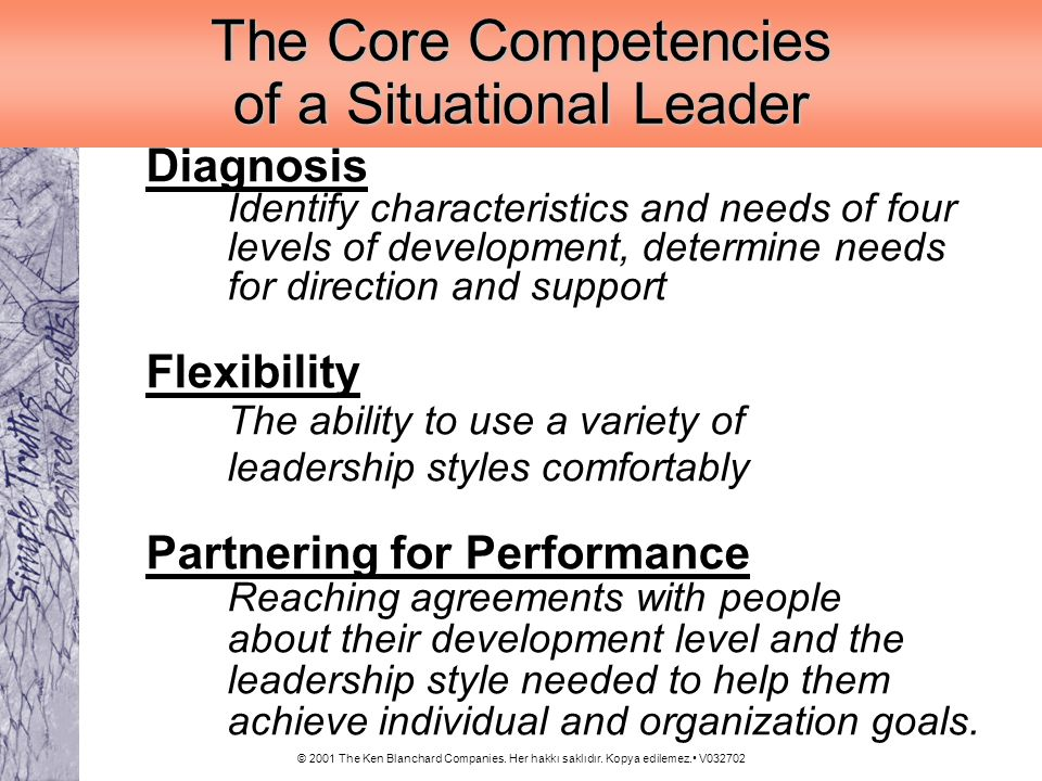 The Core Competencies of a Situational Leader