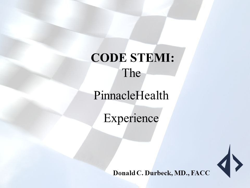 THE CODE STEMI PROJECT: Winning the Race