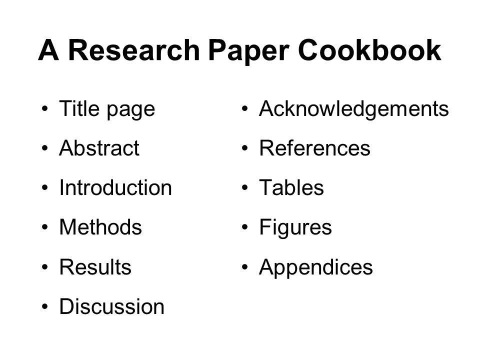 reviewing a research paper ppt Discover the elements found in a typical research paper  literature review definition of terms  presentation of an informed consent form, etc).