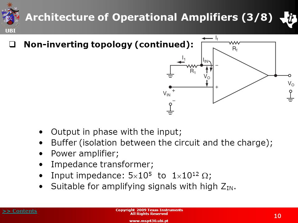Architecture of Operational Amplifiers (3/8)