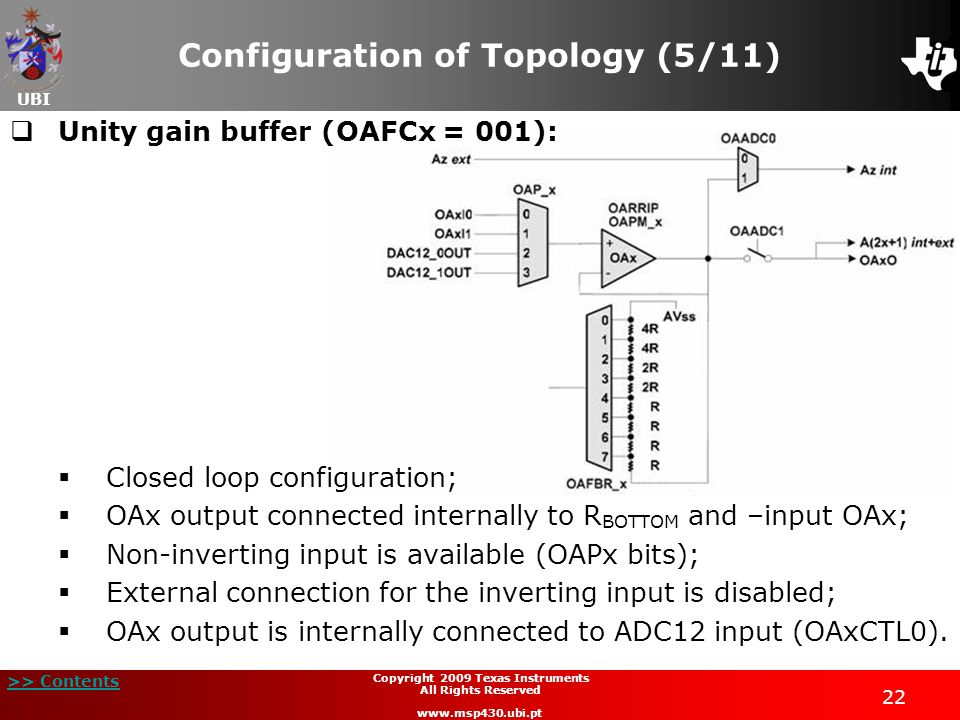 Configuration of Topology (5/11)