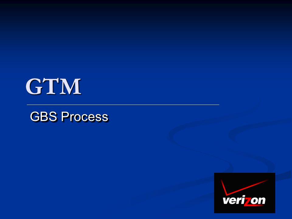 GTM GBS Process