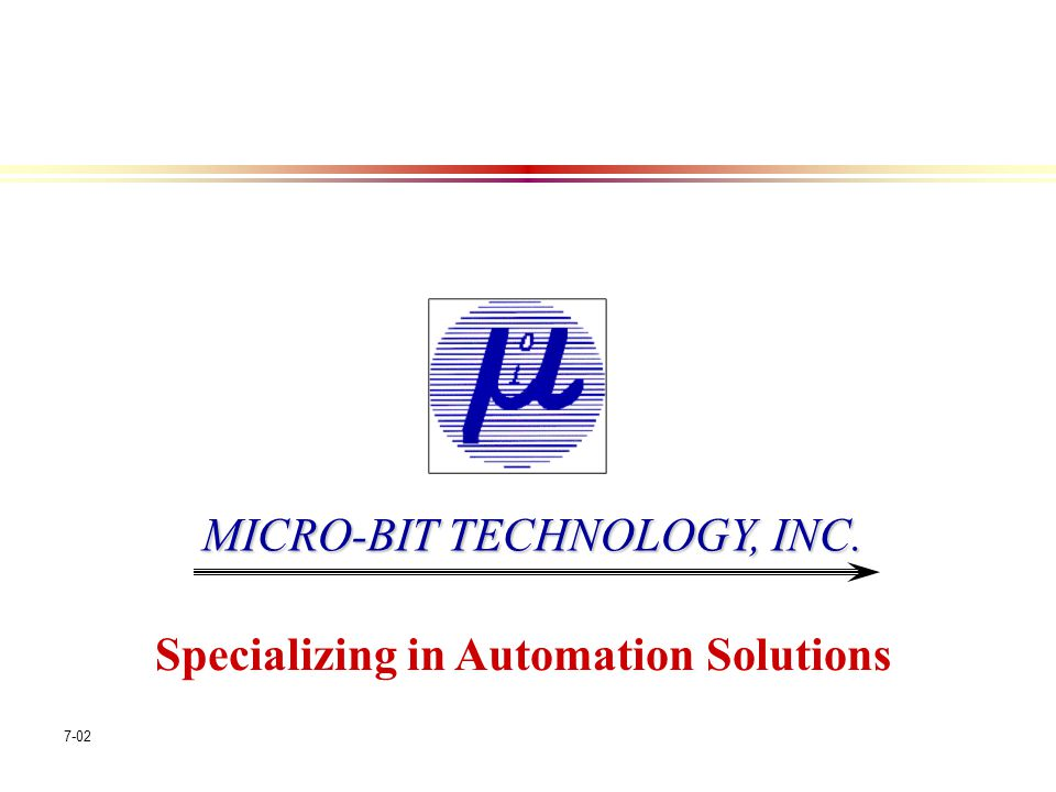 Specializing in Automation Solutions