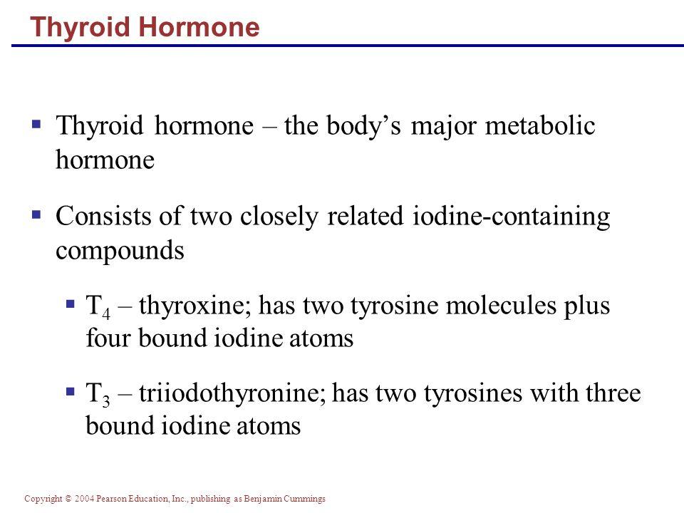 Thyroid hormone – the body's major metabolic hormone