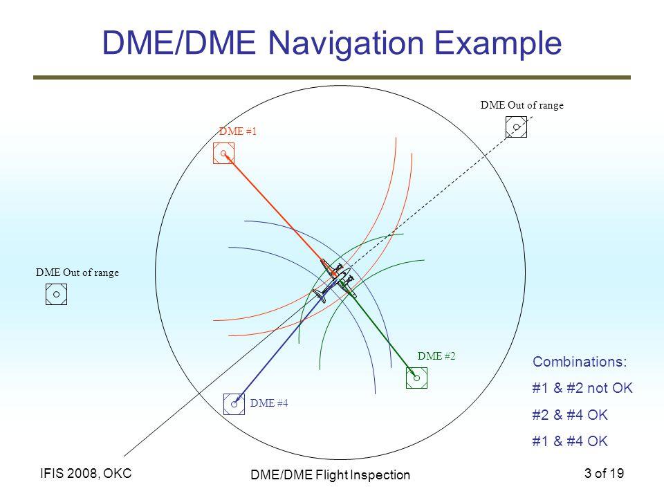 DME/DME Navigation Example