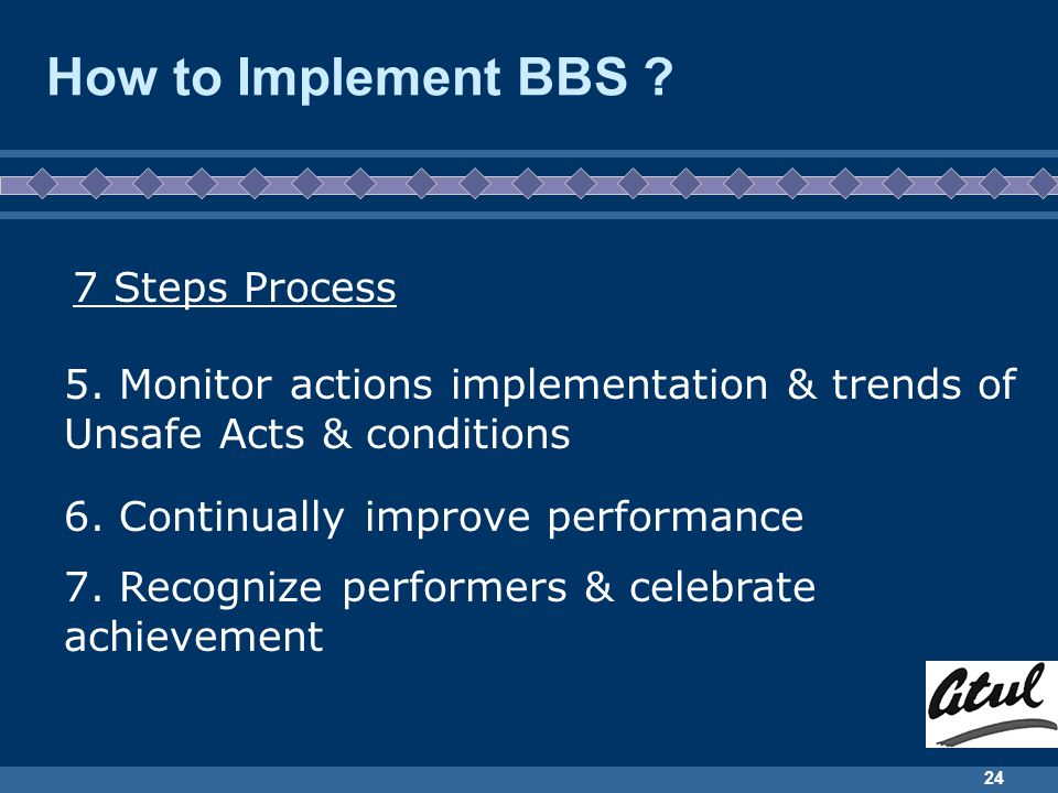How to Implement BBS 7 Steps Process