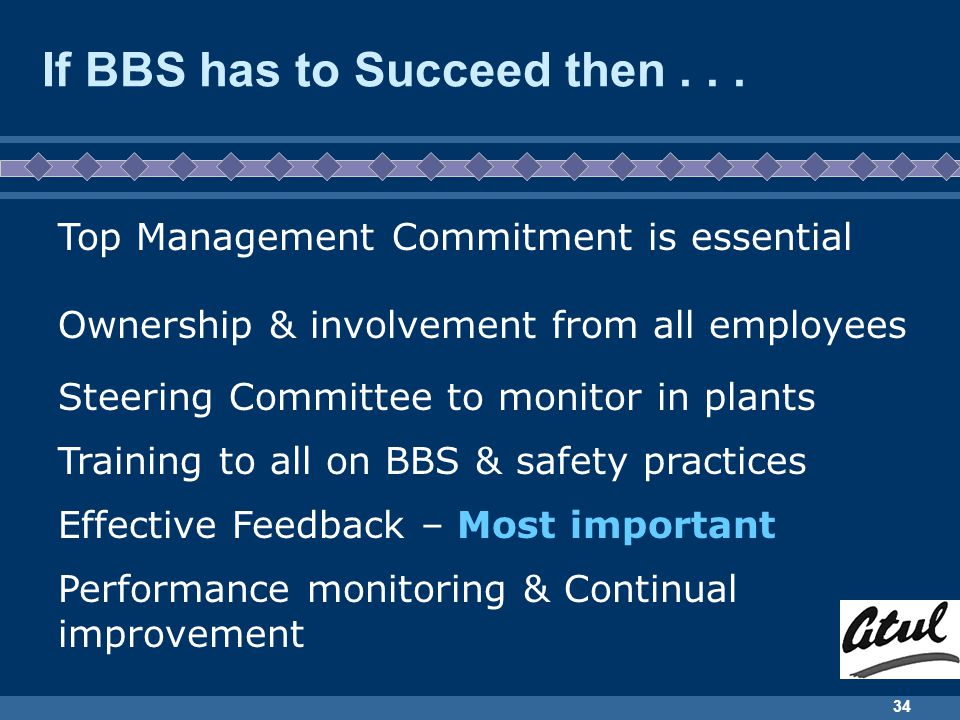 If BBS has to Succeed then . . .