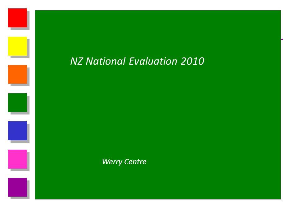 NZ National Evaluation 2010