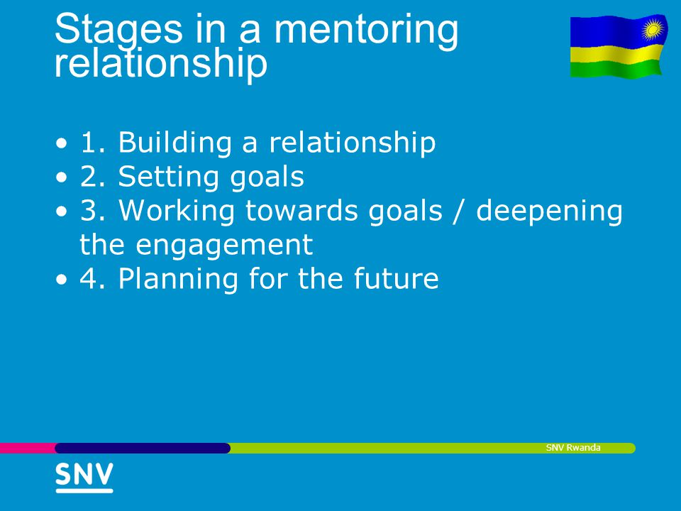 Stages in a mentoring relationship