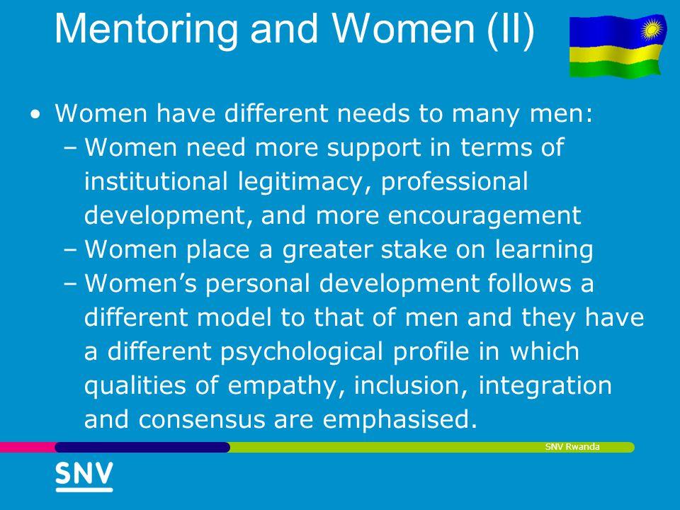 Mentoring and Women (II)
