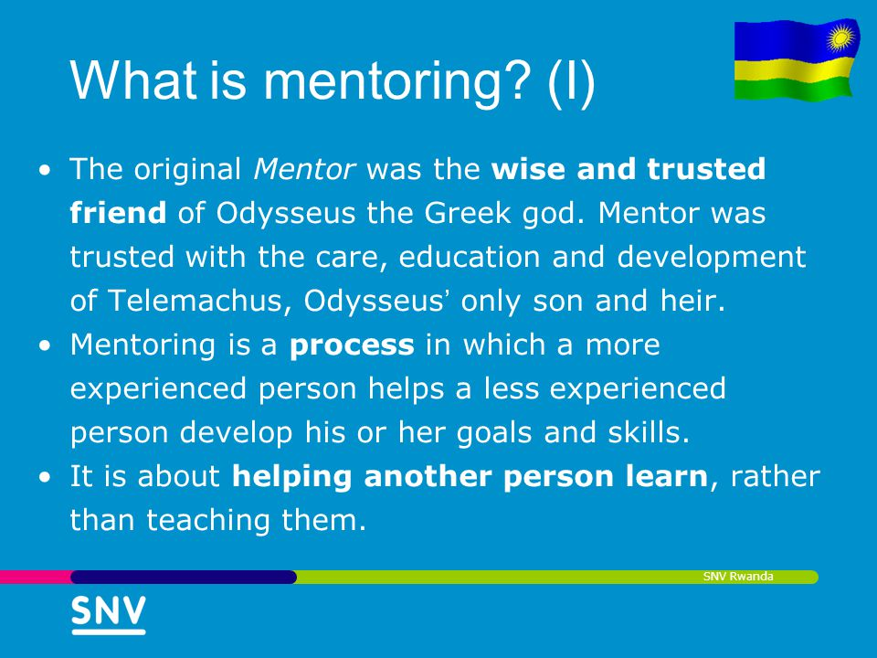 What is mentoring (I)
