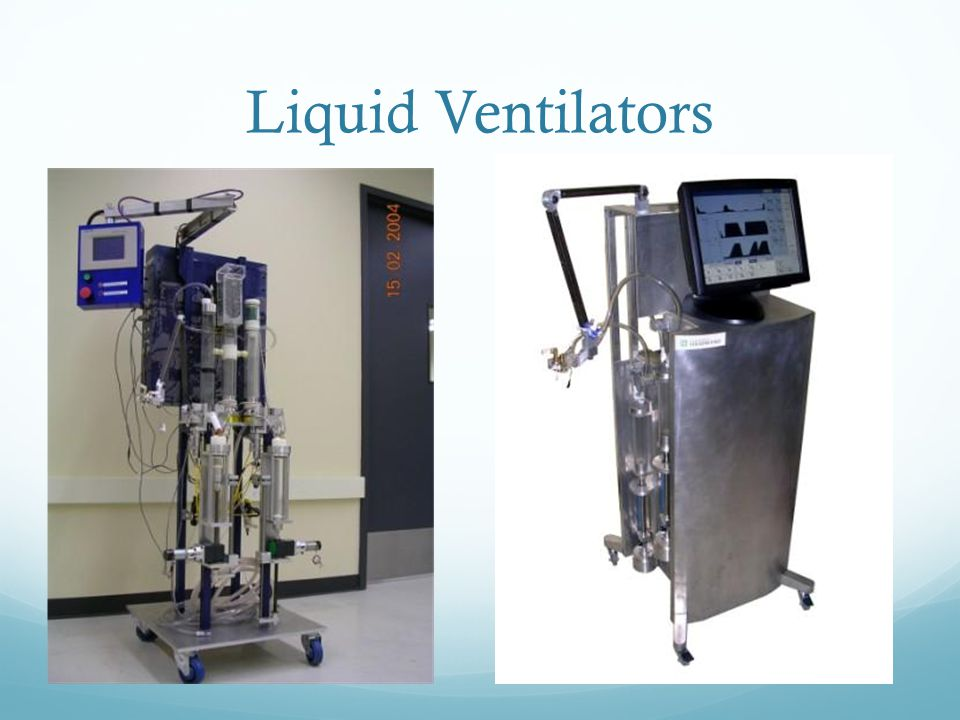 Liquid Ventilators