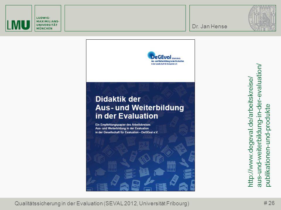 http://www.degeval.de/arbeitskreise/ aus-und-weiterbildung-in-der-evaluation/ publikationen-und-produkte