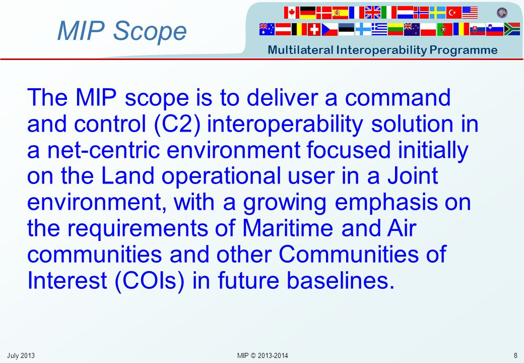 MIP Scope