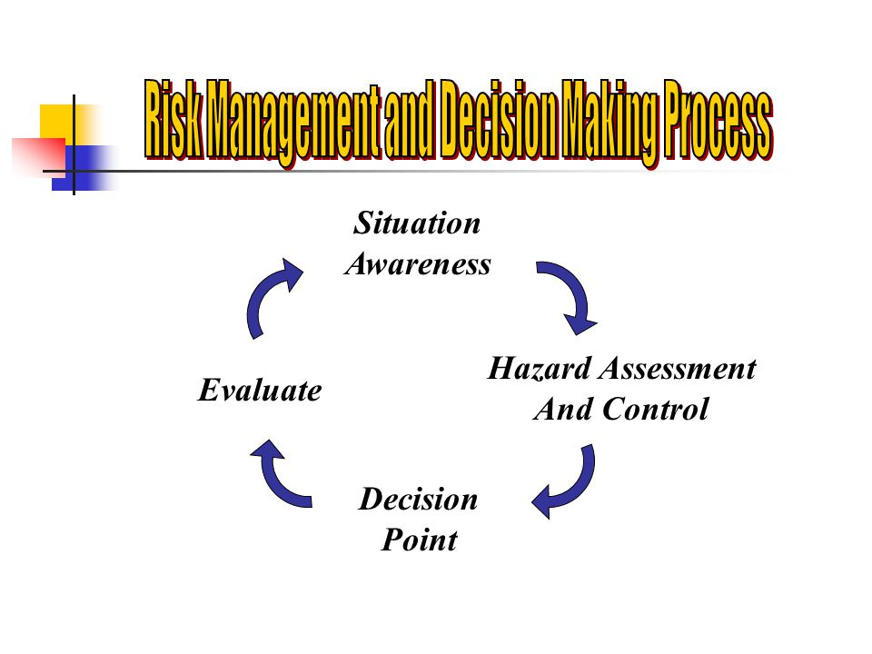 Risk Management and Decision Making Process