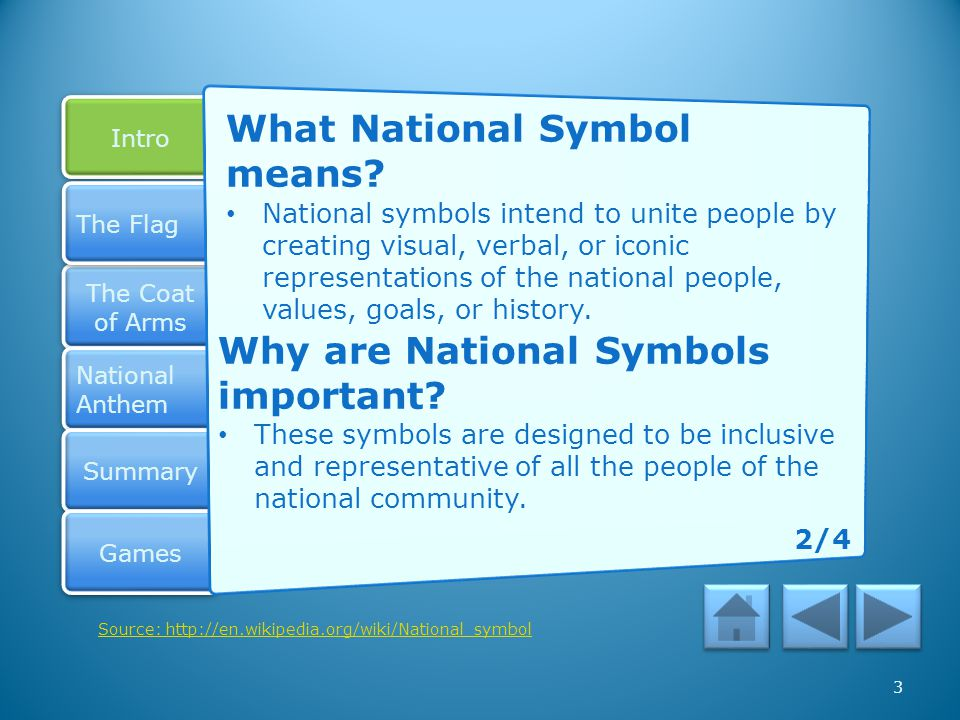 What National Symbol means