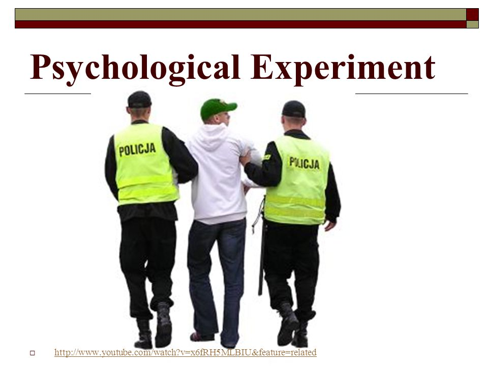 Psychological Experiment
