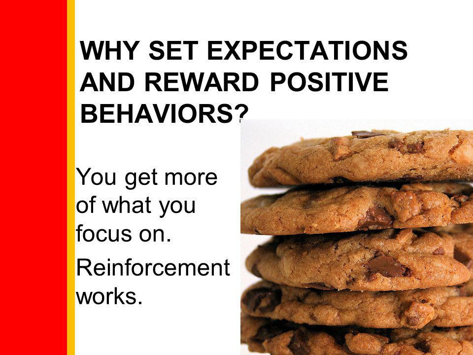 Why Set Expectations and Reward Positive Behaviors
