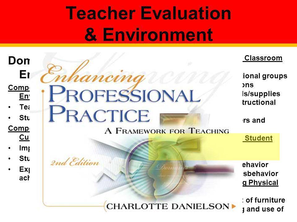 Teacher Evaluation & Environment