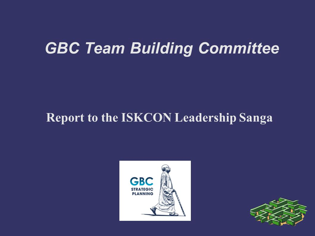 GBC Team Building Committee