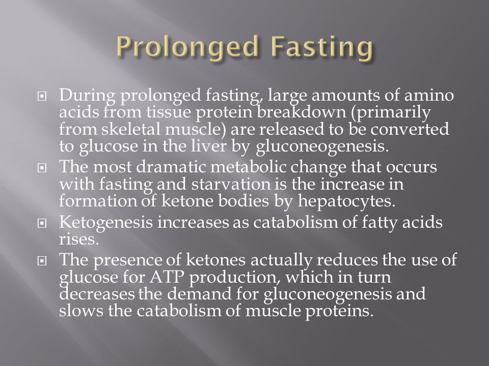 Prolonged Fasting