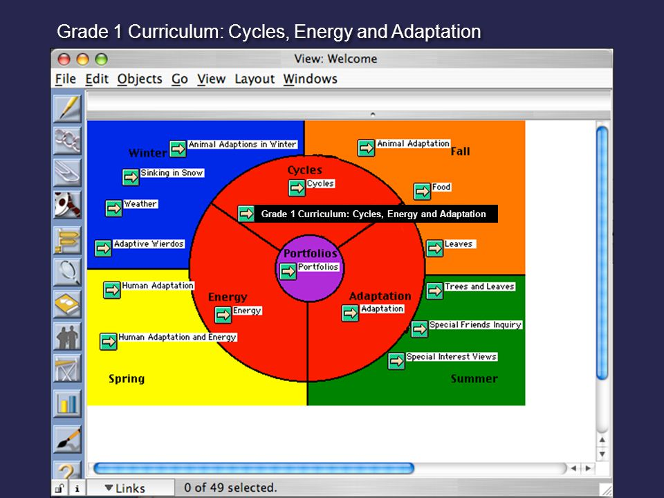Grade 1 Curriculum: Cycles, Energy and Adaptation