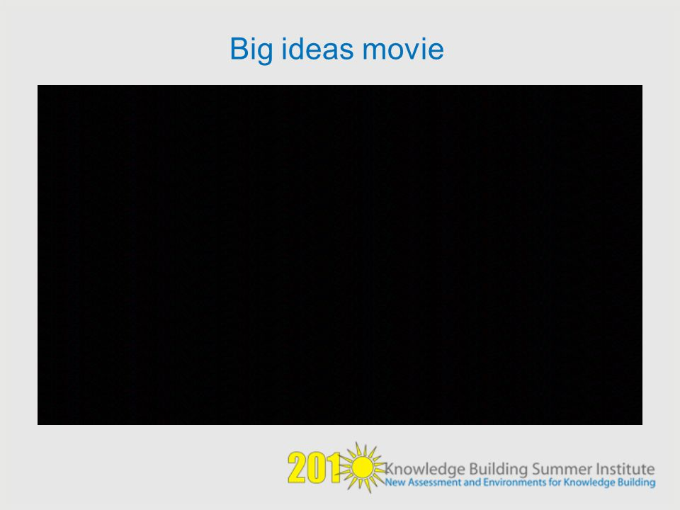 Big ideas movie