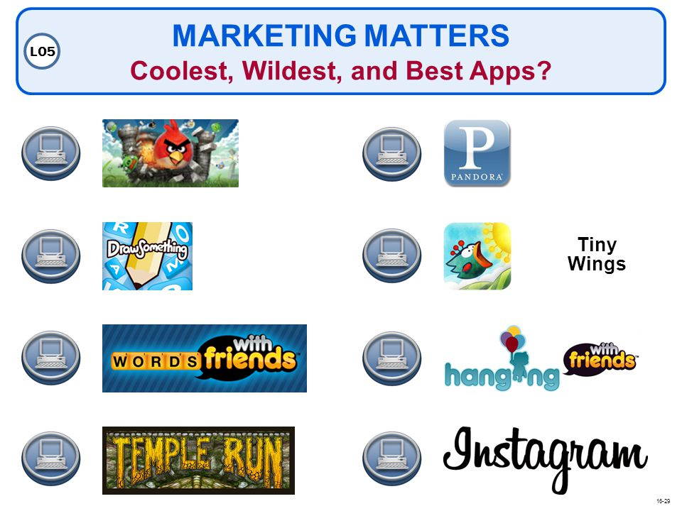 MARKETING MATTERS Coolest, Wildest, and Best Apps
