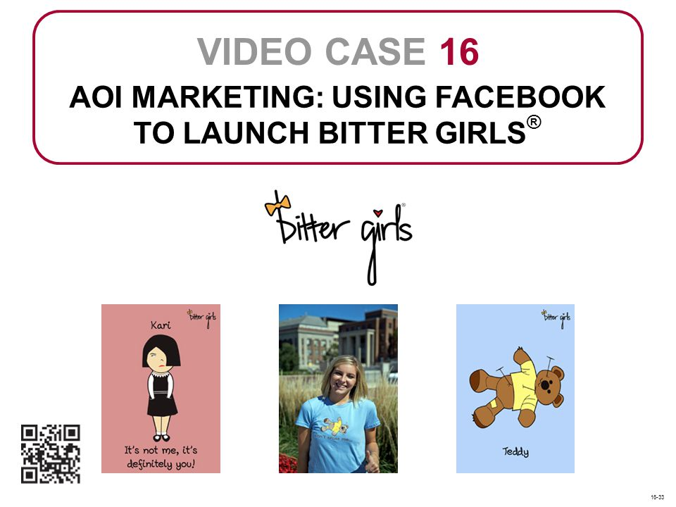 AOI MARKETING: USING FACEBOOK TO LAUNCH BITTER GIRLS®