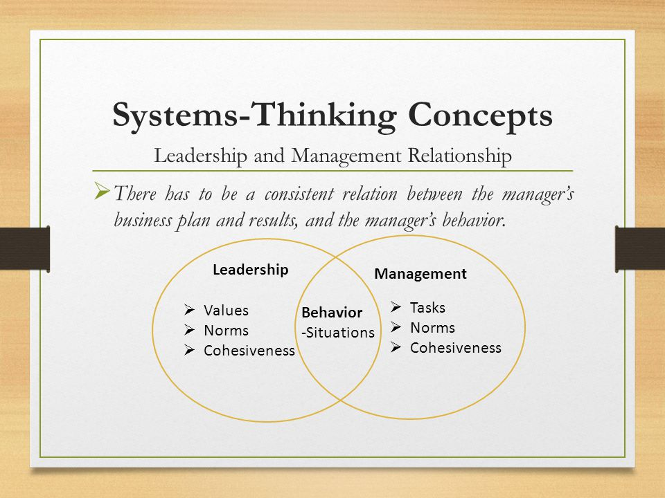 Systems-Thinking Concepts