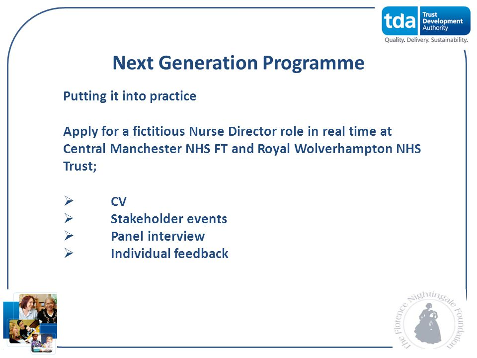 Next Generation Programme