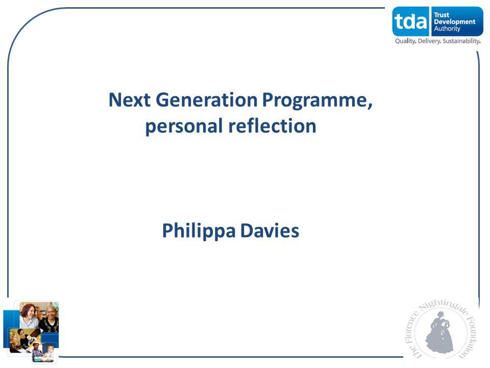 Next Generation Programme,
