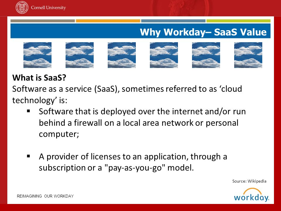 Why Workday– SaaS Value