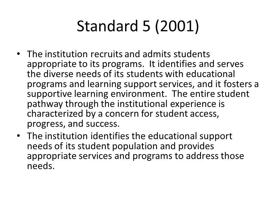 Standard 5 (2001)
