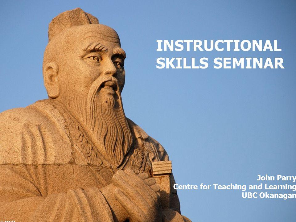 INSTRUCTIONAL SKILLS seminar