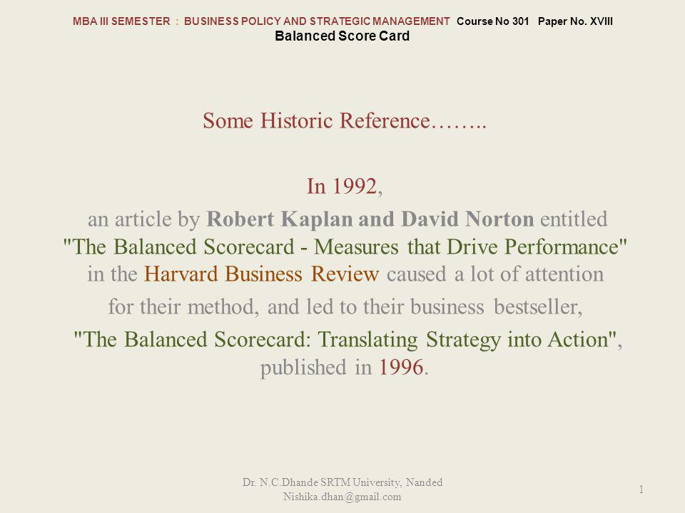 Some Historic Reference…….. In 1992,